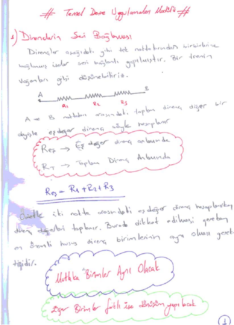 direnclerin-seri-baglanmasi